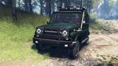 УАЗ-315195 Хантер v3.0 для Spin Tires