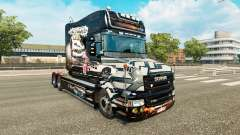 Скин NFS Most Wanted на тягач Scania T для Euro Truck Simulator 2