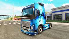 Скин Allfons на тягач Volvo для Euro Truck Simulator 2