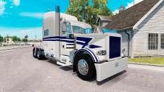 Скин Bowers Trucking на тягач Peterbilt 389 для American Truck Simulator
