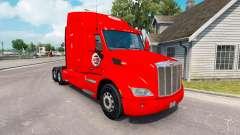 Скин ATS на тягач Peterbilt 579 для American Truck Simulator