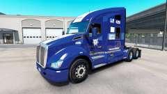 Скин Policia Federal на тягач Kenworth T680 для American Truck Simulator