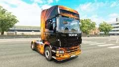 Скин Cubical Flare на тягач Scania для Euro Truck Simulator 2