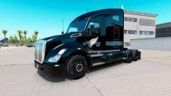 Скин Silver Fern на тягач Kenworth T680 для American Truck Simulator