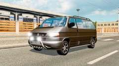 Volkswagen Caravelle для трафика для Euro Truck Simulator 2