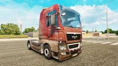 Скин Dirty на тягач MAN для Euro Truck Simulator 2