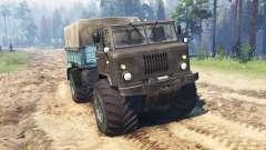 ГАЗ-66 Мамонтенок Кузя для Spin Tires
