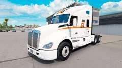 Скин Big G Express Inc на тягач Kenworth T680 для American Truck Simulator