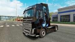 Скин Panther на тягач Volvo для Euro Truck Simulator 2