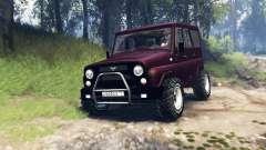 УАЗ-315195 Хантер турбодизель v3.0 для Spin Tires