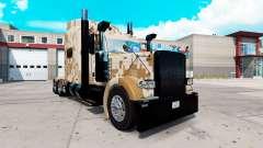 Скин Camo на тягач Peterbilt 389 для American Truck Simulator