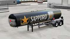 Скин Sapporo на полуприцеп-цистерну для American Truck Simulator