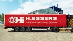 Скин H.Essers на шторный полуприцеп для Euro Truck Simulator 2
