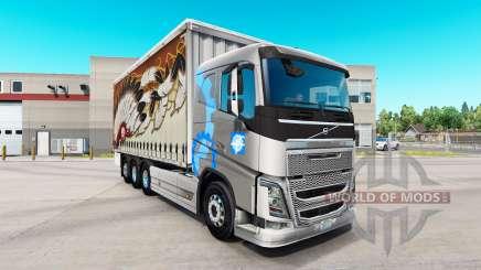Volvo FH16 tandem для American Truck Simulator
