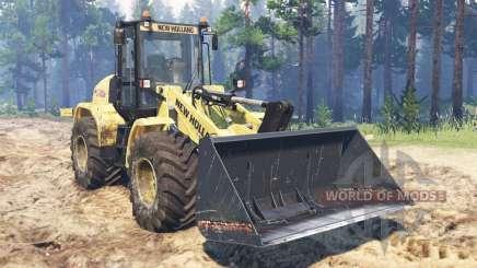 New Holland W170C для Spin Tires