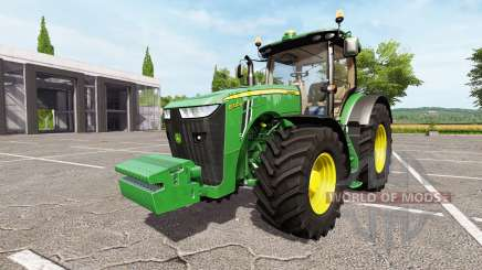 John Deere 8320R v1.2 для Farming Simulator 2017