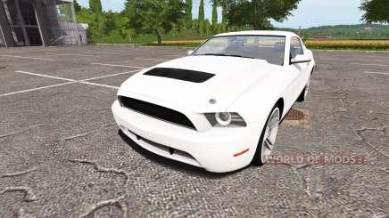Ford Mustang GT для Farming Simulator 2017