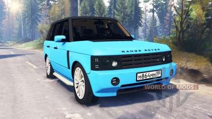 Range Rover Sport Понторезка v2.0 для Spin Tires