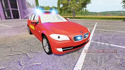 BMW 530d Touring (F11) Feuerwehr для Farming Simulator 2017