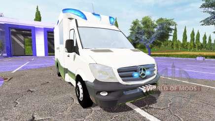 Mercedes-Benz Sprinter BlueTEC (Br.906) для Farming Simulator 2017