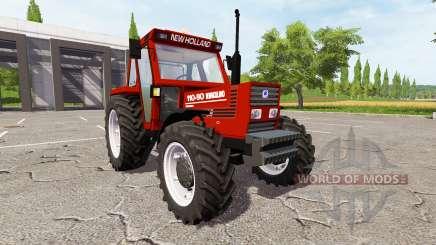New Holland 110-90 Fiatagri red для Farming Simulator 2017