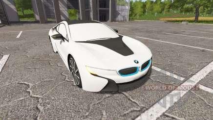 BMW i8 (I12) для Farming Simulator 2017