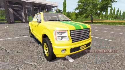 Lizard Pickup TT Service v1.4 для Farming Simulator 2017
