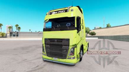 Volvo FH16 2013 v2.2 для American Truck Simulator