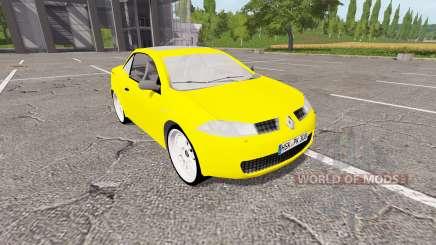 Renault Megane CC для Farming Simulator 2017