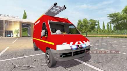Peugeot Boxer (244) VTU для Farming Simulator 2017