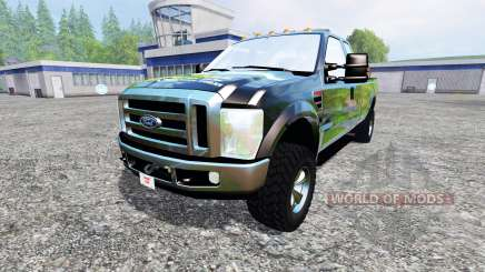 Ford F-350 XLT Super Duty для Farming Simulator 2015