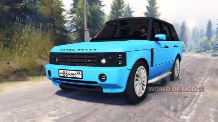 Range Rover Sport Понторезка для Spin Tires