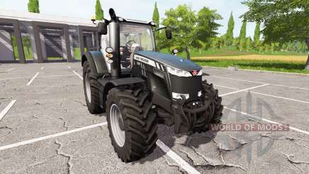 Massey Ferguson 8737 v1.1 для Farming Simulator 2017