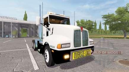 Kenworth T600 oversize load для Farming Simulator 2017