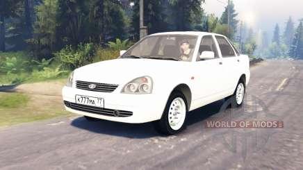LADA Priora (ВАЗ-2170) для Spin Tires