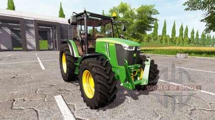 John Deere 5085M v1.2 для Farming Simulator 2017