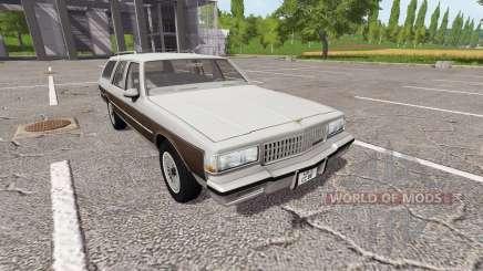 Chevrolet Caprice Estate Wagon 1989 для Farming Simulator 2017