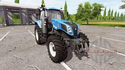 New Holland T8.435 tuning для Farming Simulator 2017