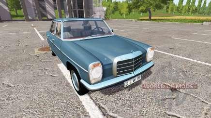 Mercedes-Benz 200D (W115) 1973 для Farming Simulator 2017