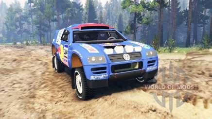 Volkswagen Touareg Dakar Rally для Spin Tires