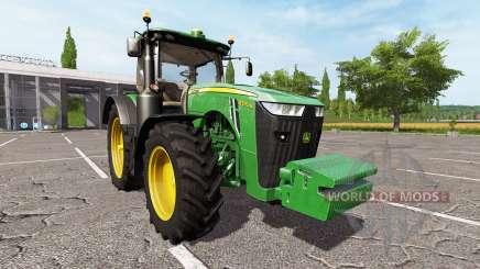 John Deere 8370R для Farming Simulator 2017