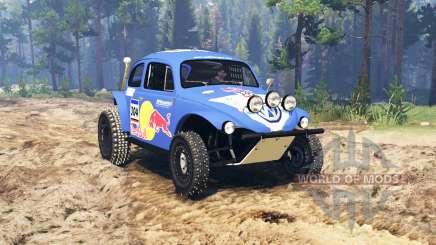 Volkswagen Beetle Baja для Spin Tires