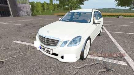 Mercedes-Benz E350 CDI Estate (S212) для Farming Simulator 2017