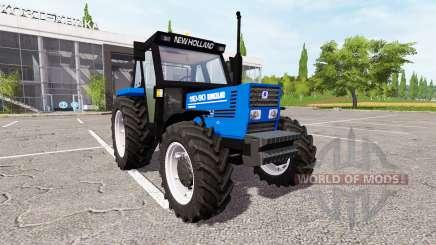 New Holland 110-90 Fiatagri blue для Farming Simulator 2017