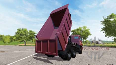 КАМАЗ-65115 евро3 для Farming Simulator 2017
