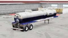 Скин Jumex на полуприцеп для кислот для American Truck Simulator