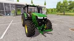 John Deere 7310R v1.1.0.2 для Farming Simulator 2017