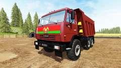 КАМАЗ-65115 v3.0 для Farming Simulator 2017