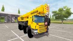 Scania P420 Liebherr LTF 1060 для Farming Simulator 2017