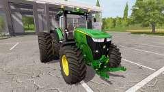 John Deere 7310R v1.4 для Farming Simulator 2017